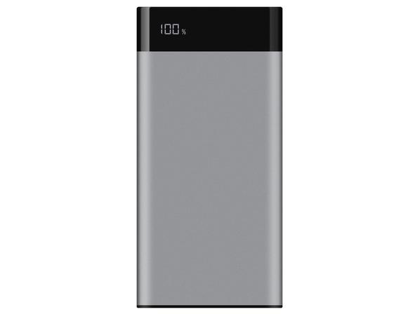 Внешний аккумулятор Rombica Neo TS100 Quick, серебряный, 10000 mAh - фото № 1