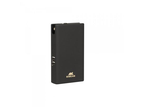 Внешний аккумулятор со встроенным адаптером Rivacase VA4749, 5000 mAh, черный - фото № 1