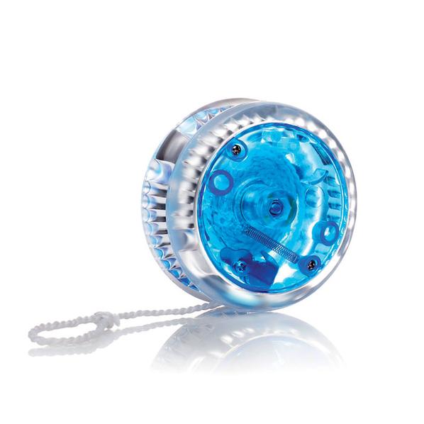 Игрушка Йо-йо с огоньками, синий - фото № 1