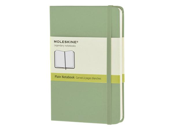 Записная книжка А6 Classic (нелинованный), зеленый - фото № 1