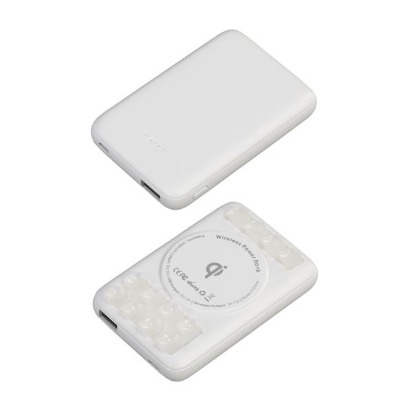 Зарядное устройство беспроводное CamerON, 5000 mAh, белое - фото № 1