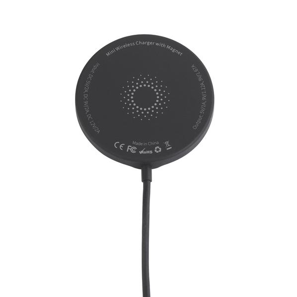 Зарядное устройство Magic Softtouch магнитное беспроводное, черное - фото № 1