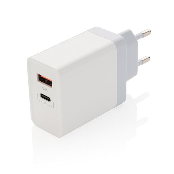 Зарядное устройство сетевое XD Collection, 30 Вт, белое - фото № 1