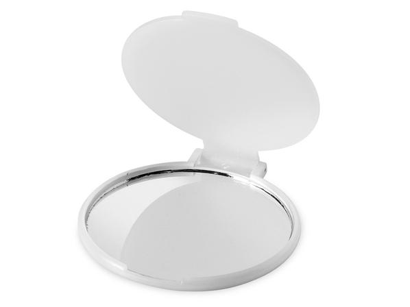 Зеркальце Carmen складное, белый - фото № 1