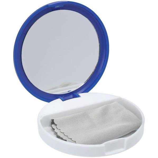 Подставка для телефона с зеркалом Self, синяя - фото № 1
