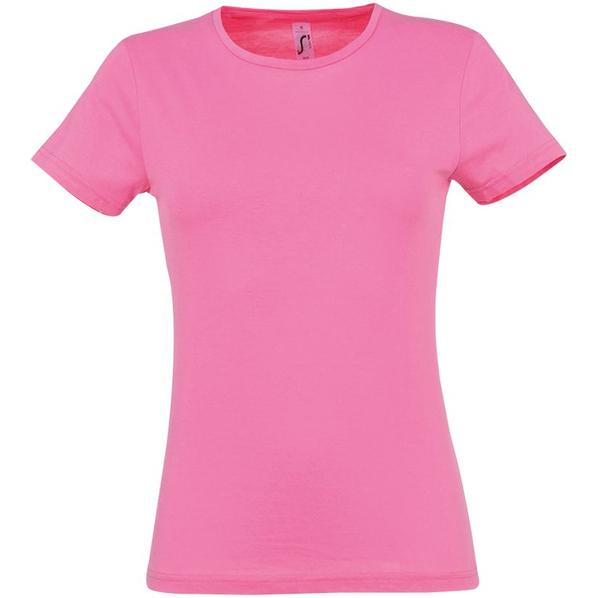 Футболка женская Sol's Miss 150, розовая - фото № 1
