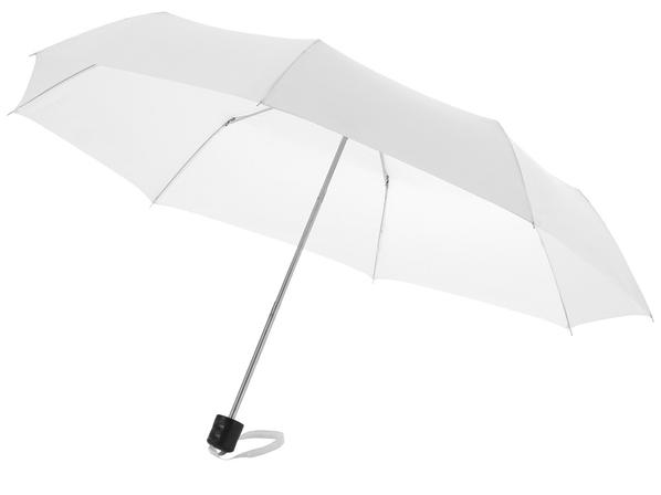 Зонт складной механический Ida, белый - фото № 1