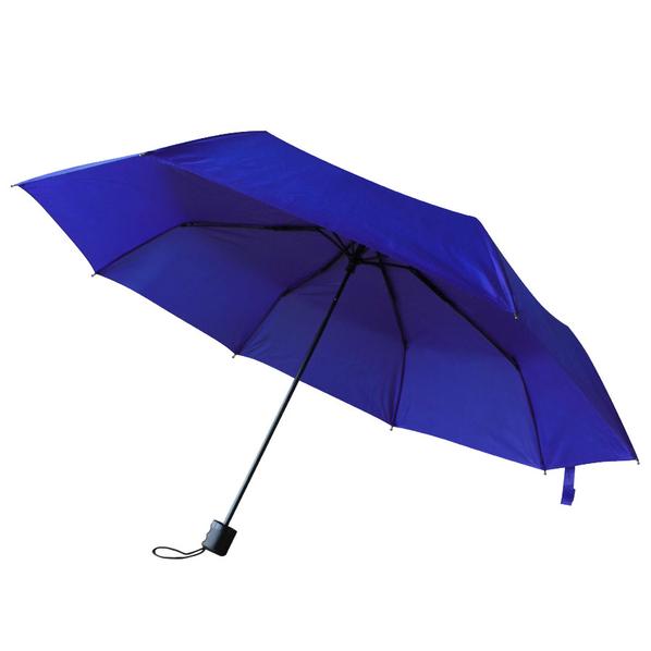 Зонт складной механический «Сиэтл», синий - фото № 1