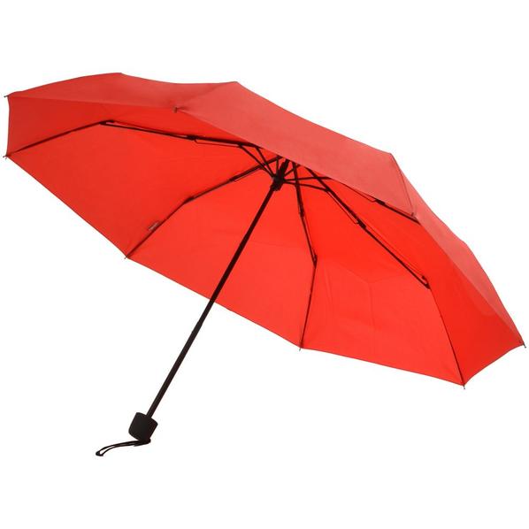 Зонт складной мини механический Doppler Mini Hit Dry-Set, красный - фото № 1