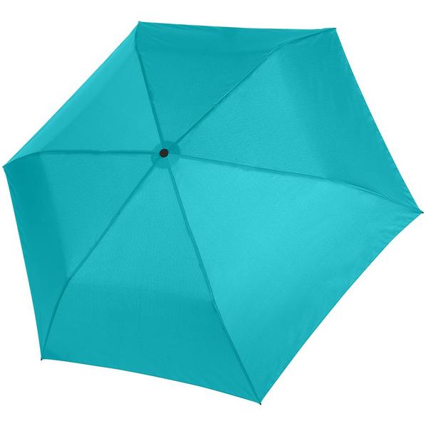 Зонт складной механический Doppler Zero 99, голубой - фото № 1