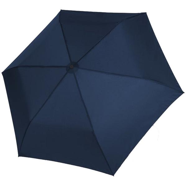 Зонт складной механический Doppler Zero 99, синий - фото № 1
