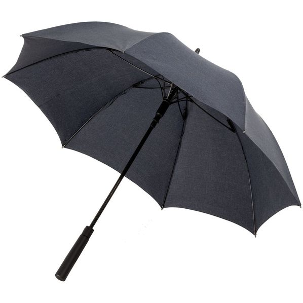 Зонт-трость Indivo RainVestment, темно-синий меланж - фото № 1