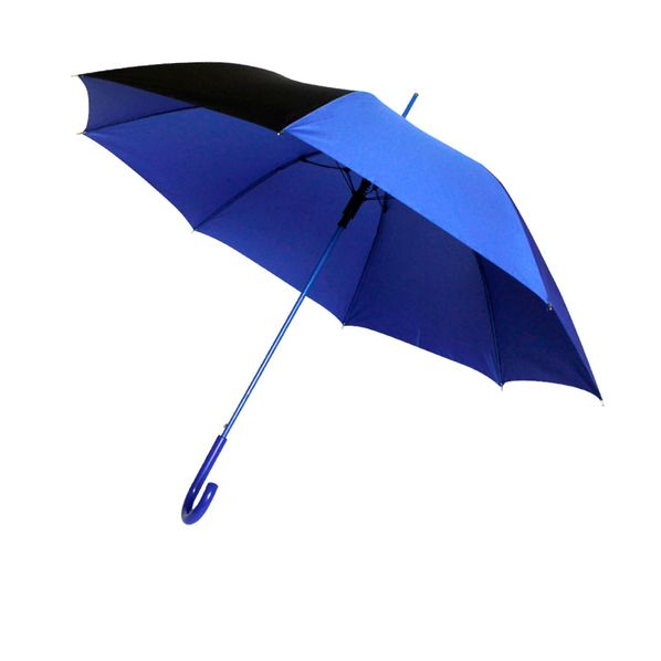 Зонт-трость полуавтомат Vivo, синий - фото № 1