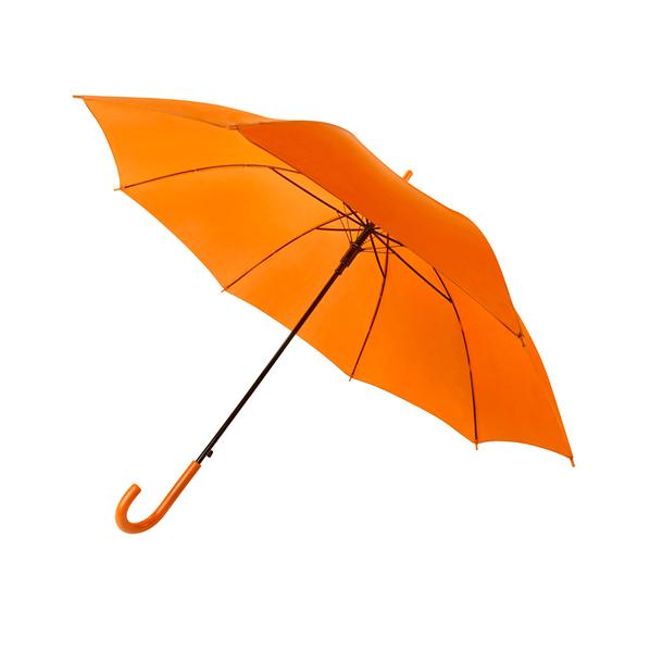 Зонт-трость полуавтомат Stenly Promo, оранжевый - фото № 1