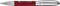 Ручка роллер Senator Solaris, красная фото