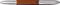 Ручка роллер Senator Solaris, янтарная / оранжевая фото