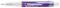 Ручка шариковая пластиковая Senator Big Pen Icy, фиолетовая фото