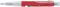Ручка шариковая пластиковая Senator Big Pen Icy, красная фото