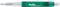 Ручка шариковая пластиковая Senator Big Pen Icy, зеленая фото