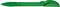 Ручка шариковая пластиковая Senator Hattrix Soft Clear, прозрачная зеленая фото