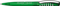 Ручка шариковая пластиковая Senator New Spring Clear Clip Metal, прозрачная темно-зеленая / серебристая фото