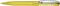 Ручка шариковая пластиковая Senator New Spring Clear Clip Metal, прозрачная светло-желтая / серебристая фото
