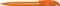 Ручка шариковая пластиковая Senator Challenger Frosted, фростированная оранжевая фото