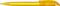 Ручка шариковая пластиковая Senator Challenger Icy, желтая фото