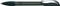 Ручка шариковая пластиковая Senator Hattrix Metal Clear, прозрачная черная фото