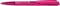 Ручка шариковая пластиковая Senator Dart Clear, прозрачная розовая фото