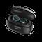 Наушники беспроводные внутриканальные затычки с зарядным кейсом футляром True Wireless Nobby Expert T 110, черные/ синие фото