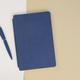 Ежедневник недатированный Wownote Альба А5, гибкая обложка, синий - фото № 2