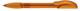 Ручка шариковая пластиковая Senator Hattrix Clear Soft, прозрачная оранжевая - фото № 1
