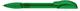 Ручка шариковая пластиковая Senator Hattrix Clear Soft, прозрачная зеленая - фото № 1