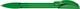 Ручка шариковая пластиковая Senator Hattrix Soft Clear, прозрачная зеленая - фото № 1