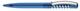 Ручка шариковая пластиковая Senator New Spring Clear Clip Metal, прозрачная голубая / серебристая - фото № 1