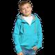 Толстовка с капюшоном на молнии детская StanStyle Junior, бирюзовая - фото № 1