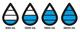 Бутылка из тритана XD Design Aqua 650мл, прозрачный черный - фото № 3