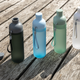 Бутылка герметичная из тритана XD Collection Impact, 600 мл, зеленая - фото № 9