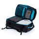 Дорожная сумка на колесах Large adventure, черный, синий - фото № 8