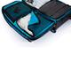 Дорожная сумка на колесах Large adventure, черный, синий - фото № 9