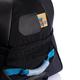 Дорожная сумка на колесах Large adventure, черный, синий - фото № 2
