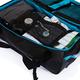 Дорожная сумка на колесах Large adventure, черный, синий - фото № 10