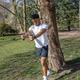 Эспандер для фитнеса с чехлом XD Collection Heavy, черный / серый - фото № 7
