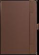 Ежедневник недатированный Portobello Trend Alpha, коричневый/ оранжевый - фото № 4