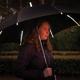 """Зонт трость с фонариком механический XD Collection 23"""", черный - фото № 6"""