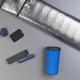 Набор: автомобильное зарядное устройство Slam + магнитный держатель для телефона Allo2, черный - фото № 3
