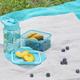 Набор для детей (контейнер для ланча, бутылка для воды, 0,45мл), зеленый - фото № 2