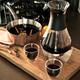Набор для глинтвейна Glu с чашечками, черный, коричневый - фото № 2