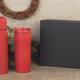 Набор подарочный Грация: термос и термостакан, красный - фото № 3